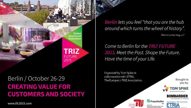TRIZ Future 2015 Konferenz