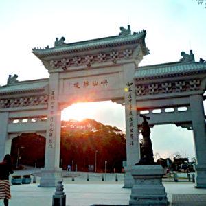 Tian Tan Buddha Entry Gate - Tom Spike