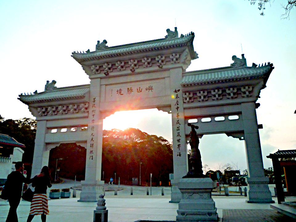 Tian Tan Buddha Entry Gate - Tom Spike