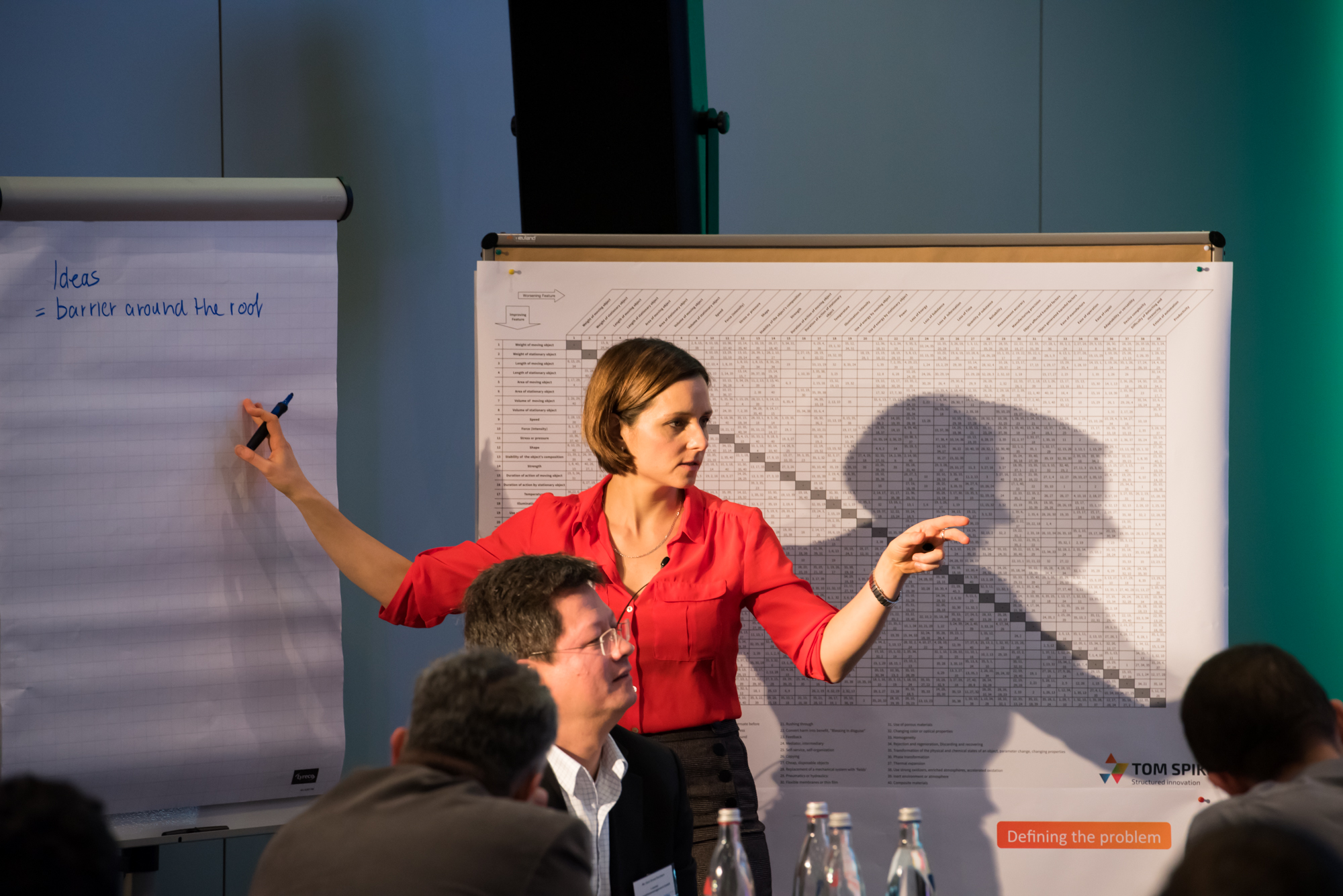 Innovationstraining mit Innovationsberaterin Nina Defounga