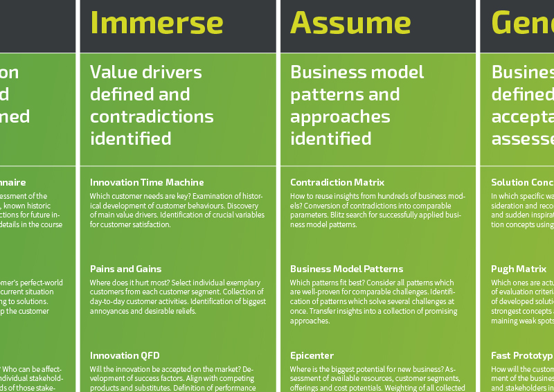 Business Model Innovation Roadmap-Detail English - TOM SPIKE