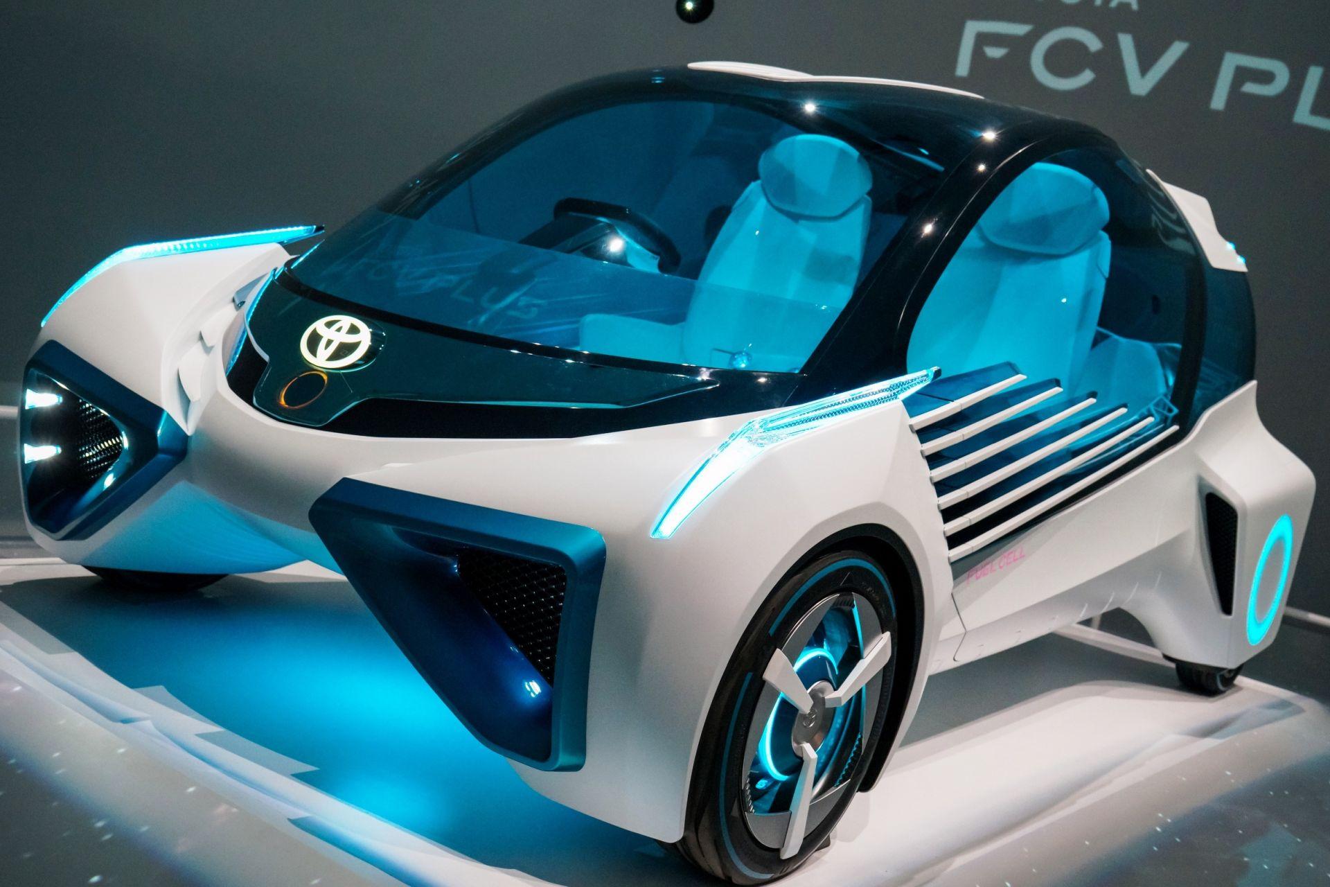 Elektrokleinfahrzeug Konzeptstudie für zwei Personen als Beispiel für eine Produkt-Innovation der Innovationsarten