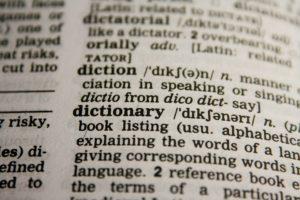 Wörterbuch zur Rechtschreibung