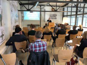 Teilnehmer beim Innovation-Symposium