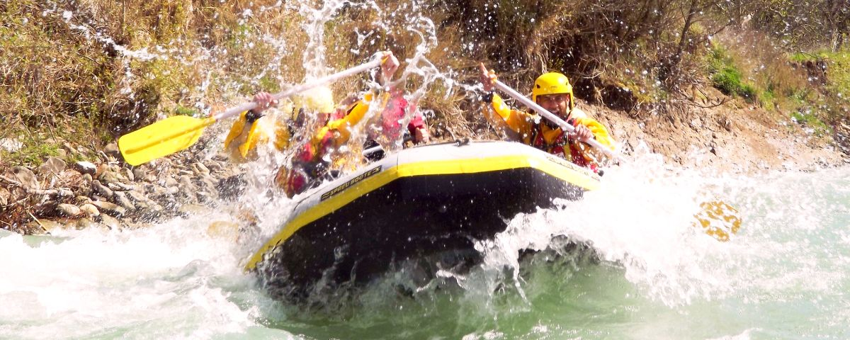 Innovationsprojekt - Wildwasser-Rafting