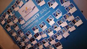 DTIM Community Wall 2018