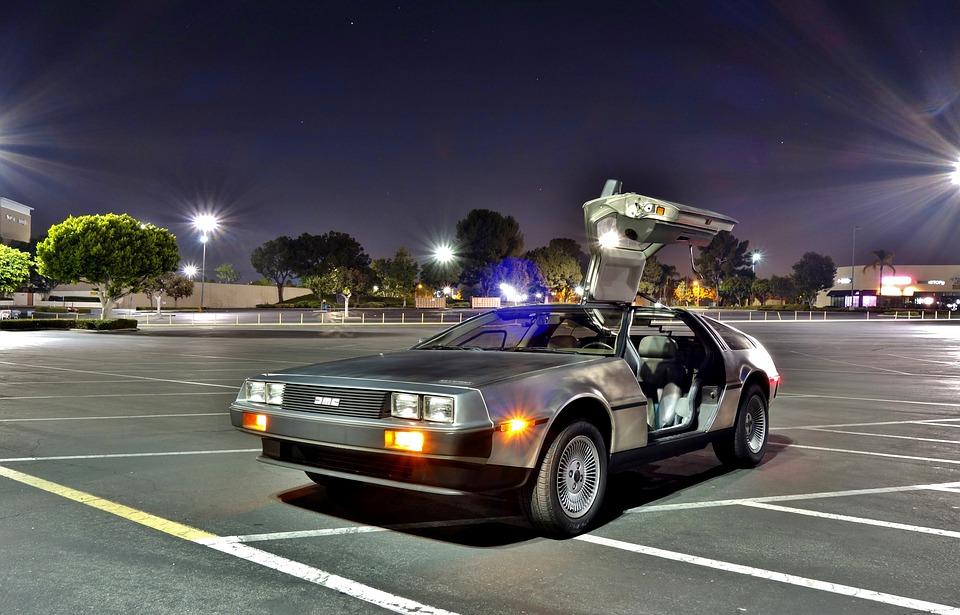 DeLorean - Zeitmaschine - Produkt der Zukunft