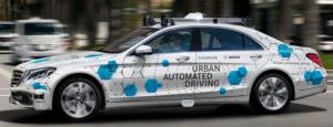 Daimler Konzept zu Urban Automated Driving