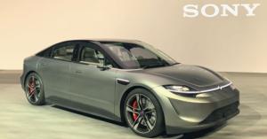 Sony Vision S eCar auf der CES 2020