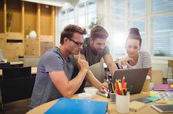 Auch Innovationsstrategie entsteht nur aus Teamwork